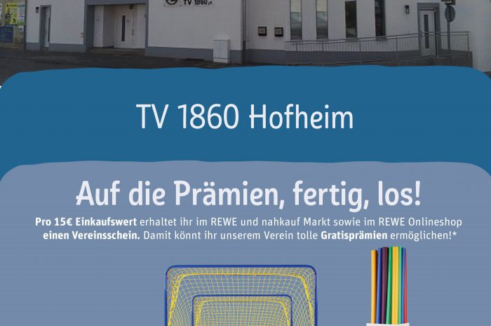 Scheine für Vereine – Mit dem Einkauf Ihren Lieblingsverein in Hofheim unterstützen