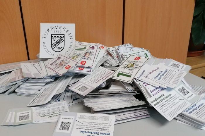 Scheine für Vereine – über 16.000 Scheine gesammelt!