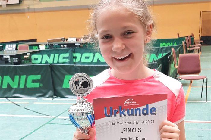 Tischtennis: Hofheimerin Josefine Kilian gewinnt Verbandsentscheid