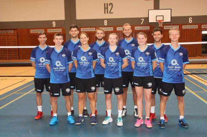 Doppelheimspieltag in der 2. Bundesliga im Badminton